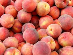 Peaches, the smell of a bunch of these is so good. One of the joys of living.
