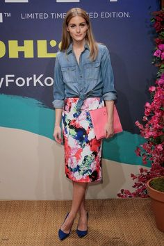 The Olivia Palermo Lookbook : Olivia Palermo At Milly For DesigNation Collection Launch