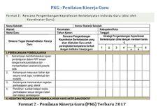 MTs N WONOSOBO: Format 2 - Penilaian Kinerja Guru (PKG) Terbaru 20...