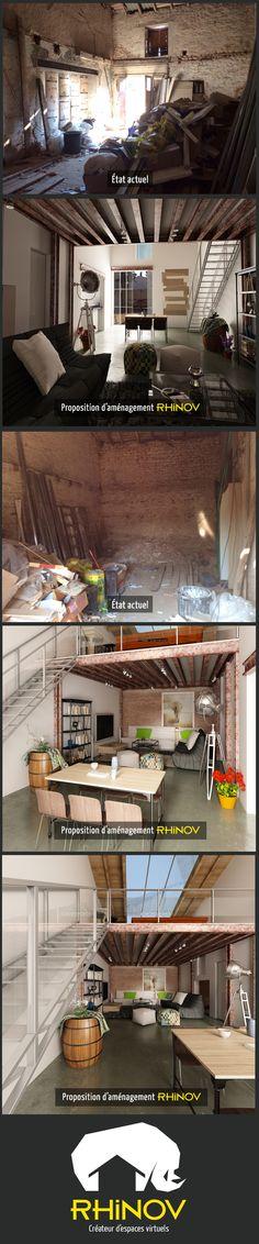 Projet de redistribution du0027un appartement dans le 4ème