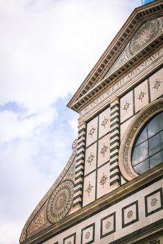 Basilica di Santa Maria Novella. Firenze.  Leon Battista Alberti, Giorgio Vasari (1360)