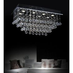 Architecture House Discover House of Hampton Bechtold 8 - Light Chandelier Style Tiered Flush Mount