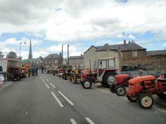 Exposition tracteurs anciens  ----     La Feuillie - Seine Maritime