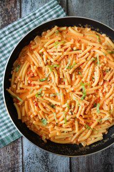 Nem og lækker pastaret! Hvorfor gå ned på smag, når aftensmaden eller frokosten skal være nem?