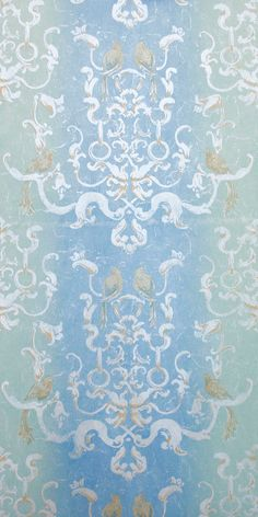 "Aviatrix ""Blue Green"" Wallpaper"
