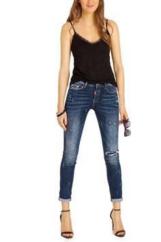 Ankle cut Jeans im used Style http://www.bestyledberlin.de/index.php/damen-ankle-cut-jeans-knoechellange-slim-fit-jeans-im-used-style-j44i.html