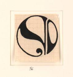 Art Inspiration, Illustration Art, Art, Linocut, Hand Drawn Lettering, Art Lessons, Art Nouveau, Art Deco Monogram, Lettering Fonts