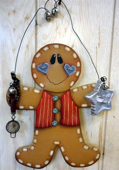 Baking Gingers E-Pattern – (Betty Bowers) Christmas Gingerbread Men, Gingerbread Decorations, Gingerbread Ornaments, Christmas Decorations, Christmas Ornaments, Christmas Plates, Gingerbread Houses, Gingerbread Cookies, Man Crafts