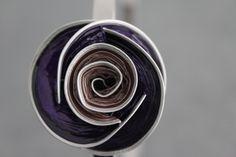 Serre-tête Nespresso violet et rose