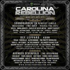 2017 Carolina Rebellion line up