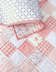 I am in love with this quilt. I will definitely have to make!