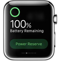 """iTips: ••AppleWatch: make BATTERY last longer!•• Forbes 2015-12-30 • """"All-day"""" is 18 hours + if push device, 3 hrs! • tips: ≠ use as Speakerphone   2.Right Face  3.Cut anim  4.cut Notif  5.use Power Reserve Mode  • AppleWatch launched 2015-04-24 Fri"""