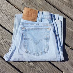 Vintage LEVI'S 560 Jeans  High Waisted by TomieHarleneVintage, $16.00 #vintagelevis #levi #levistrauss #highwaisted