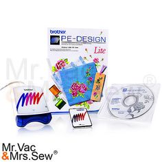 Brother PE-Design Lite Embroidery Software, Brother Embroidery Software , Embroidery Machines - Mrva