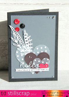 en priplack - still scrap de soph Mothers Day Cards, Valentine Day Cards, Valentine Ideas, Love Cards, Diy Cards, Card Making Templates, Anniversary Cards, Greeting Cards Handmade, Scrapbook Cards
