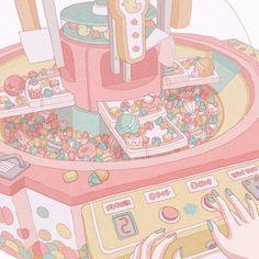 Cute Pastel Wallpaper, Soft Wallpaper, Anime Scenery Wallpaper, Cute Patterns Wallpaper, Cute Anime Wallpaper, Kawaii Drawings, Cute Drawings, Kawaii Art, Kawaii Anime