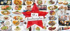 8 x kerstmenu's Happy People, Clean Eating, Good Food, Paleo, Table Settings, Snacks, Christmas, Healthy Dinners, Om