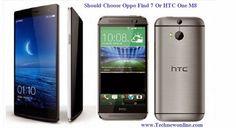 Nên chọn Oppo Find 7 Hoặc HTC One M8