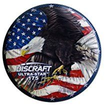 Discraft 175 gram Super Color Ultra-Star Disc, Eagle From Discraft  Aggressive into the wind, Hornet's place in the hive is between Wasp and Drone. Not crazy overstable, but no sissy either. You'll be surprised by the amount of glide Hornet...