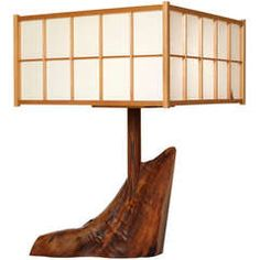 George Nakashima, Table Lamp                                                                                                                                                                                 More