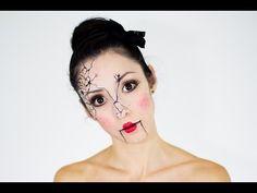 Halloween Make-up - Die zerbrochene Porzellan-Puppe | Für Sie