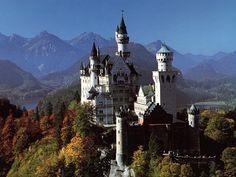 Tòa lâu đài đẹp nhất thế giới
