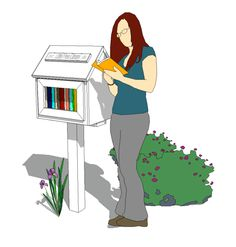 Use these Little Free Library plans to build one in your yard or community that allows everyone you know to share their love of reading.