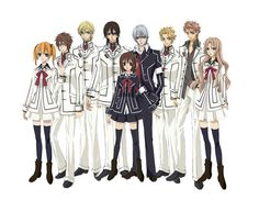 Vampire Knight-  In this world of secrets, nothing is as it seems and the price of misplaced trust may even be worse than death.