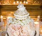 """Casey's Cupcakes® - Casey's Cupcakes Wedding Cakes  """"$10,000 cupcake"""" wedding cake"""