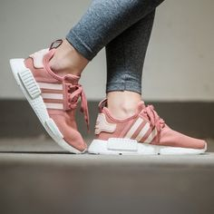 Original Shoes WMNS Adidas NMD R1 Raw Pink Vapour Pink FTWR White