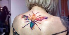 Les sublimes tatouages en double exposition signés Andrey Lukovnikov !