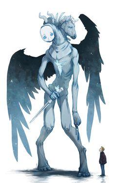 Castiel's true form