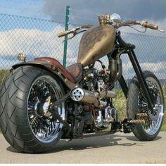Barbarian Motorcycles Old School Highneck Chopper Barbarian Custom Bike HAMMER Custom Bobber, Custom Choppers, Custom Harleys, Custom Motorcycles, Custom Bikes, Custom Cycles, Motos Harley Davidson, Classic Harley Davidson, Chopper Motorcycle