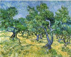Vincent van Gogh, Olive Grove (France), 1889