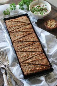 Baked Kobeba/Kibbeh Tray: The Middle Eastern Meatloaf