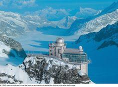 Jungfraujoch, Alpes Suizos.