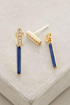 WE ♥ THIS!  ----------------------------- Original Pin Caption: Elizabeth and James Arbus Bar Earrings #anthrofave