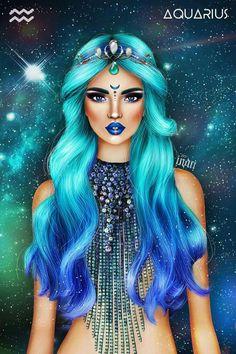 All About Aquarius Aquarius Images, Aquarius Art, Aquarius Woman, Age Of Aquarius, Zodiac Signs Aquarius, Zodiac Art, Arte Aries, Aquarius Aesthetic, Freundin Tattoos
