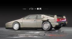 ArtStation - Ghost in the Shell - Batou's Car, Maciej Kuciara