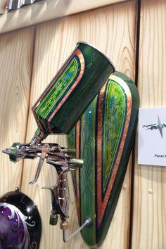 Automotive-custom-paints-at-SEMA-chili-verde-tank....