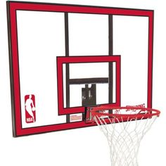 Spalding Basketball Backboard and Rim Combo 79351 44 in. Polycarbonate
