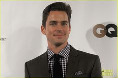 Matt Bomer Lacoste/GQ Super Bowl Party! 2013