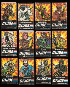 GI.JOE retro art