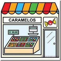 fichas de tiendas para colorear - Buscar con Google