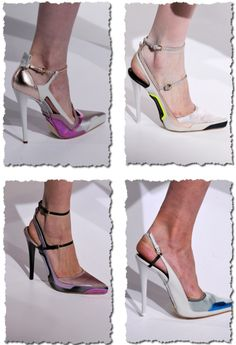 Looks like white heels are all the rage on the fall fashion runway!     *Jil Sander RTW Fall 2012* ~ Runway shoes! « StayObsessed