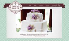 Site em WordPress - Royal Sweet - www.royalsweet.com.br