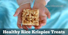 Healthy Rice Krispies Treats
