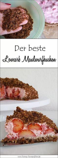 Heute zeige ich euch aber eine Variante mit wenig Kohlenhydraten. Wie man einen Lowcarb Maulwurfkuchen macht, ist nämlich ganz einfach. #Lowcarb #Maulwurfkuchen