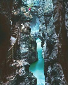 Lichtensteinklamm Salzburg Austria ||  Get NomadApp and travel the world with us http://ift.tt/23sD8Hi