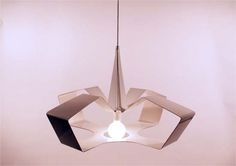 Star Pendant Lamp inspired by Origami constructions